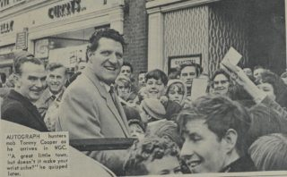 Tommy and his fans | Welwyn Times and Hatfield Herald 18 November 1966, page 23