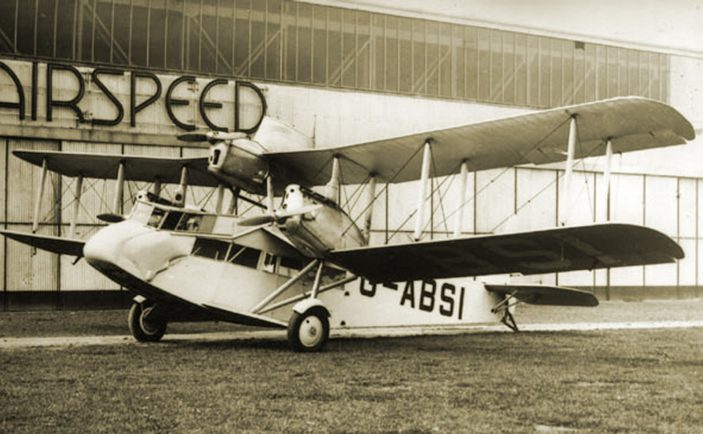 Airspeed AS.4 Ferry as flown in the Circus | Airspeed