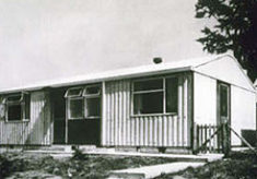 50 temporary houses for Garden City