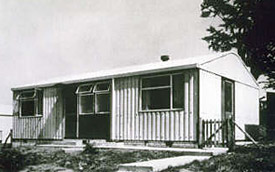 Example of an Arcon Mark V prefabricated bungalow