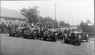 Ready for the off near the bridge over the railway | Welwyn Garden City Library
