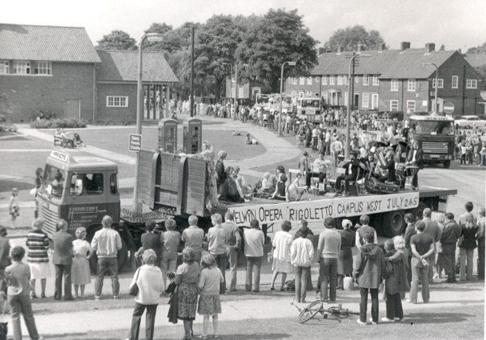 Carnival float, 1980   Welwyn Opera Archive