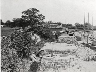 First 50 homes being constucted in Handside Lane | Hertfordshire Archives and Local Studies