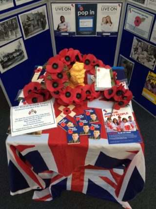Rotal British Legion display | Robert Gill