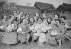 WW2 Land Army Girls