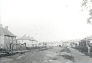 Guessens Rd 1920s looking east from Handside Lane Junction | Herts Archives & Local Studies