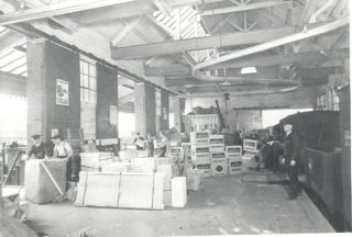 Welwyn Garden City Station, Goods Depot, c1938 | Herts Archives & Local Studies