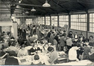 interior of Cresta Silk Factory | Welwyn Garden City Library