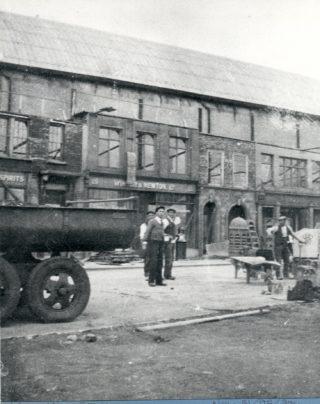 Welwyn Film Studios exterior set | Herts Archives & Local Studies