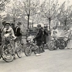 bicycles and ribbons | Studio Lisa, Welwyn Garden City Library