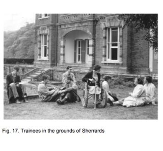Trainees at Sherrards Training Centre | Fig.17.