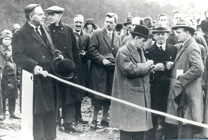 The White Bridge Opening Ceremony | Hertfordshire Archives and Local Studies